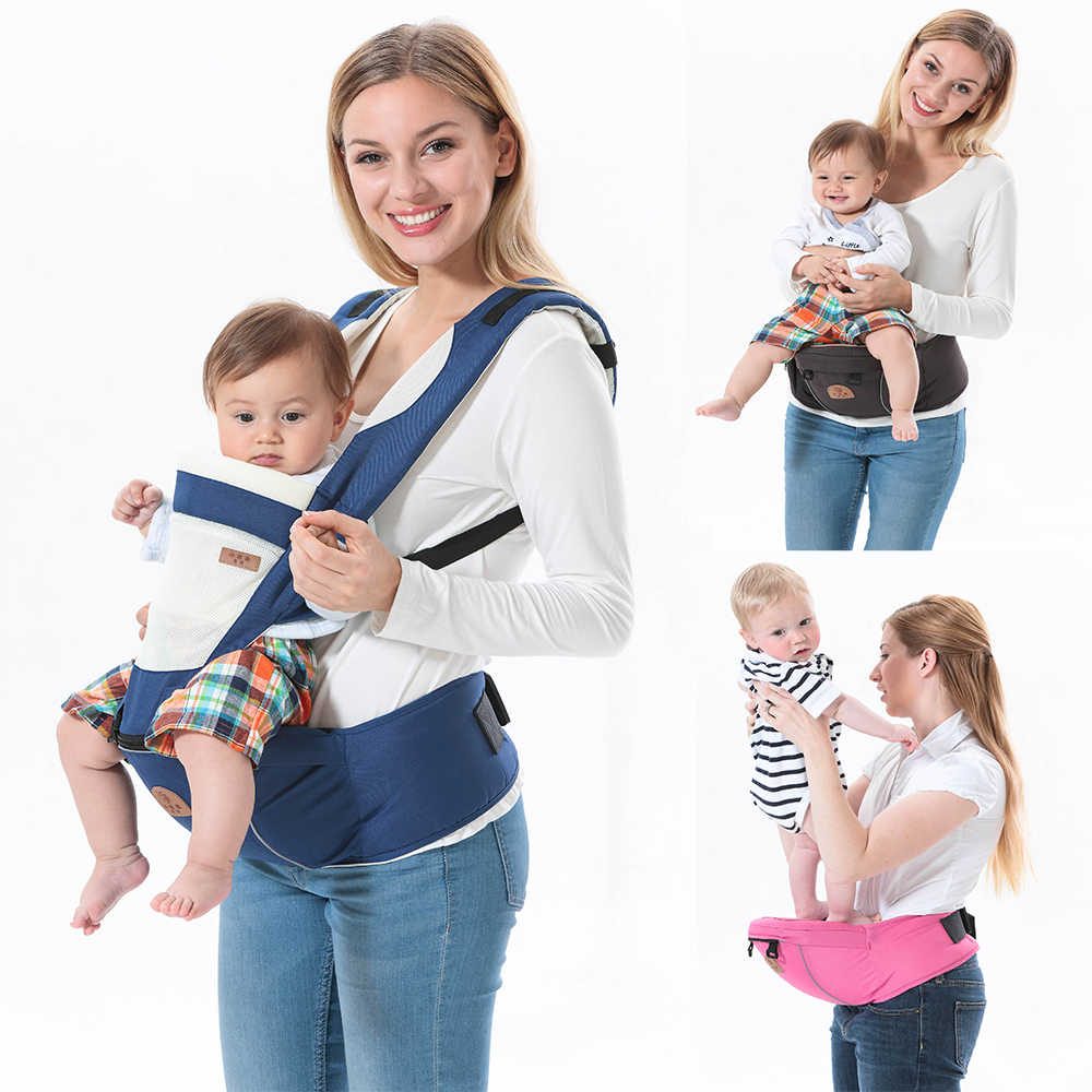 627d143c29fb3 ... Hooded ergonomic baby carrier backpack portable newborn infant kangaroo  holder baby gear adjustable sling wrap Breathable