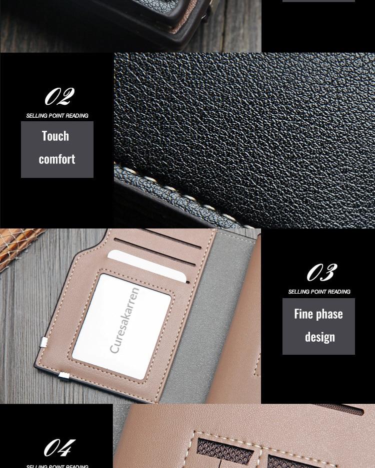 HTB1C9psawaH3KVjSZFpq6zhKpXab British casual multi-function Card Wallet