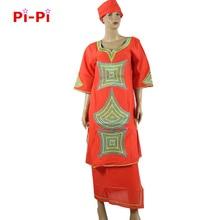 (شحن مجاني) جديد التطريز اللباس الأفريقي بازان امرأة اللباس حجر الراين الديكور الثراء اللباس للمرأة زائد الحجم