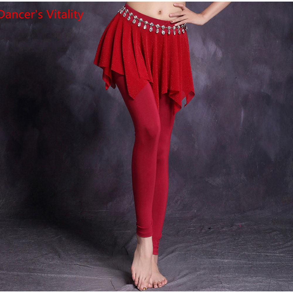 NEW High quality New bellydancing trousers belly dance skirt costume training dress or Belly dance performance long pants