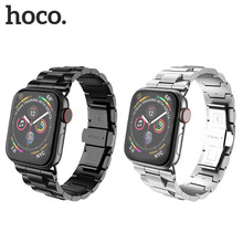 Original HOCO New 316L Stainless Steel Strap for  Apple Watch Series 4/3/2 Band iWatch 38/42/40/44 with Tool