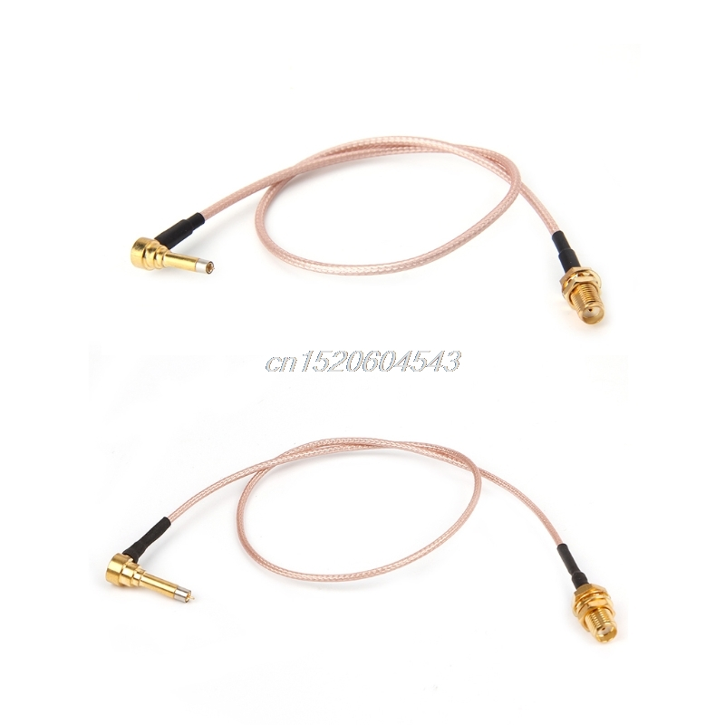 MS156 Plug Male To SMA Female Test Probe RG178 RG316 Cable Leads 35cm R24 Drop Ship adapter sma plug male to 2 sma jack female t type rf connector triple 1m2f brass gold plating vc657 p0 5