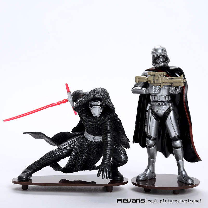 Star Wars The Force Awakens Kylo Ren Phasma Mini PVC Figure Collectible Model Toy 7.5cm / 10.5cm SWFG105 ainol mini pc windows 8 1 quad core intel z3735f tv box 7000mah power bank page 7