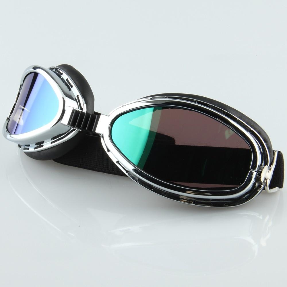 100% Wahr Outdoor Kunststoff Brillen Silber Rahmen Uv Schutz Gläser Motorrad Goggle Ski/skate/snowboard Motocross Brille Cafe Racer