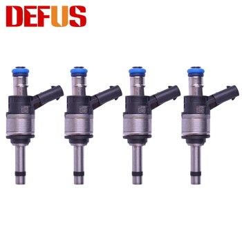 DEFUS 4 pz Originale Ugello di Iniezione di Carburante OE 06C906036F 06C906036C per Audi A4 S4 A5 S5 A6 S6 A7 A8 s8 Q7 di Alta Qualità 6 Fori