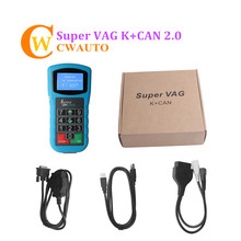 SUPER VAG K + может плюс 2,0 Авто ключевой программист VAG диагностический сканер инструмент для корректировки одометра