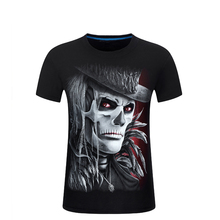 Fashion 2017 Mens Angel Print 3d t shirt Hip Hop Design Men O-Neck T-shirt homme brand-clothing Casual Short-sleeve Hipster tees