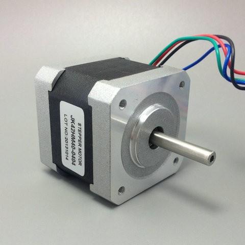 HTB1C9rJKVXXXXaRXVXXq6xXFXXXA - Free shipping NEMA17 0.9degree 42BYGHM381 42HM40-0404 42mm 2Phase Hybrid Stepper Motor 12V 0.4A 4-wire 3.4Kg.cm 40mm 3D printer