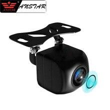 ANSTAR 12 V Videocamera vista posteriore Occhio di Pesce Wide Angolo di Visione Notturna Impermeabile della Macchina Fotografica di Backup 5 Spille Per Android di Parcheggio Specchio Dash cam