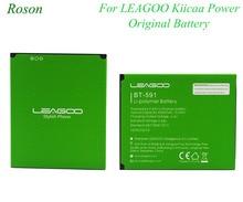 Roson Voor Leagoo Kiicaa Power Originele Batterij 4000Mah Batterie Bateria Accumulator Vervanging Backup Batterij Voor Leagoo Power
