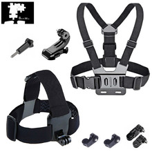 Body Chest Strap & Head Strap for LG 360 CAM Samsung Gear 360 II 2 2017 ThiEYE E7 i60e i60 T5 T5e V5 V5s AKASO EK5000 EK7000