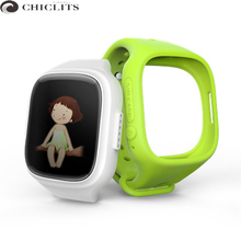 New Smart Baby Watches GPS Safe Anti-Lost Monitor Children Watch Touch Screen SOS Call Location Device Cartoon Watch for Kids A6
