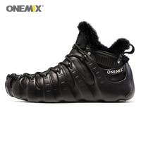 Onemix Winter Boots For Men Walking Shoes For Women Outdoor Trekking Shoes No Glue Sneakers Autumn