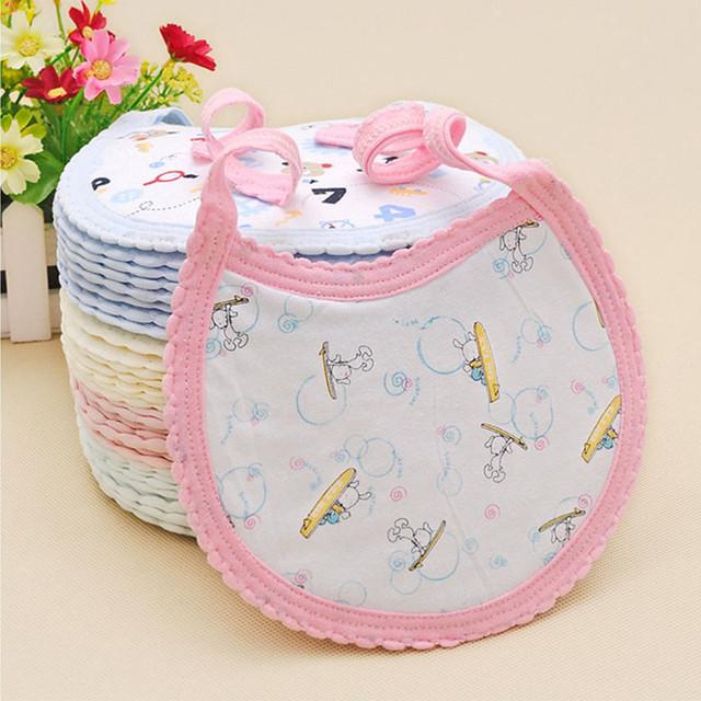 High Quality Baby Bibs Cartoon 100% Cotton
