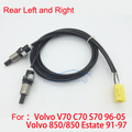 ABS Wheel Speed Sensor Rear Left and Right for Volvo 850 C70 S70 V70 OE 9162612