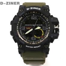 Nova Moda Esporte LED Relógio Digital Mens Relógios Top Marca de Luxo Homens Relógio de Quartzo relogio masculino Militar Relógios À Prova D' Água
