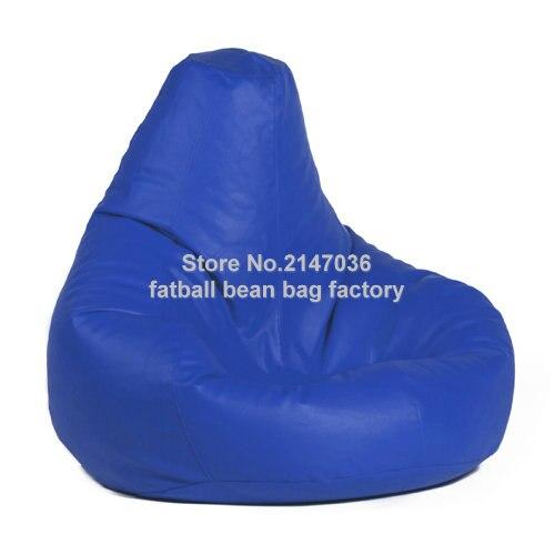 Drop pearl design bean bag, waterproof outdoor beanbag sofa beds, Portable bean furniture chairs blue tear drop design bean bag  living