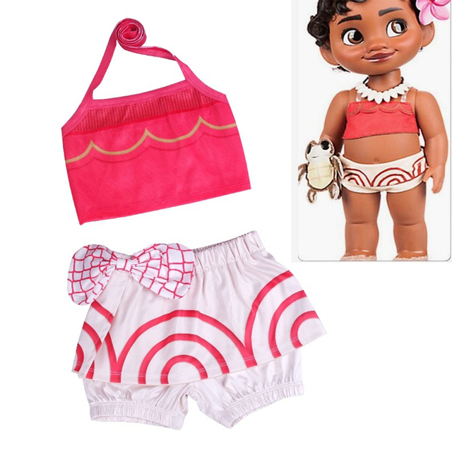Moana Swimming Suit Toddler Baby Swimwear Girl Swimwear For Babies  Miraculous Ladybug Swimsuit Moana Biquini Infantil Costume