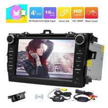 2 Din In Car Radio Stereo FOR COROLLA Support GPS Navigation StereoCar Radio DVD CD Player Cam-in WIFI 3G/4G OBD FM/AM RDS Radio