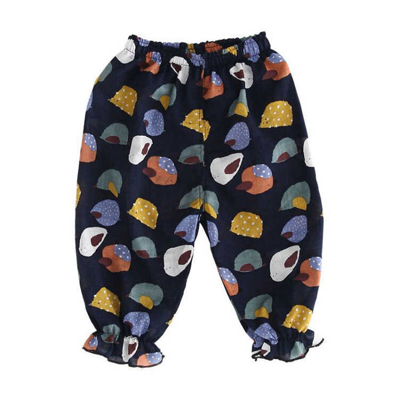 เด็กทารกกางเกงเด็กฝ้ายทารกแรกเกิดดอกไม้พิมพ์กางเกงทารกกางเกงสบายๆเสื้อผ้าเด็กชุดเด็กกางเกง