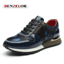 BENZELOR Chaussure Homme Adolescen 2017 Quality Microfiber Leather Fashion Casual Men Shoes Comfortable On Foot Schoenen SD6125