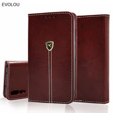 Business book Style leather cover for huawei P9 P10