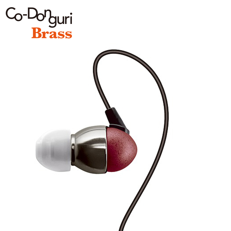 Surround Co-Donguri Brass Balance HIFI In-Ear Earphone IEM 3.5mm 2.5/4.4mm plug Tornado equalizer dynamic stereo Headphones стоимость