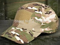 Outdoor MAGIC TAPE Tactics Camo Military Peak Cap Fishing Climbing Hunting Hiking Alpine Bionic Baseball Running
