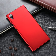 Case For Sony Xperia XA1 Ultra Case XA XA2 XZ Premium X XZ1 Compact Z1 Mini Z2 Z3 Z4 Z5 Plus XZS T3 Plastic Back Cover(China)