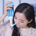 Recyclable Nose Cleaner Nasal Cavity Cleaning Device Medical and Health Care Nose Cleaning Bottle With Water Flow Control Switch