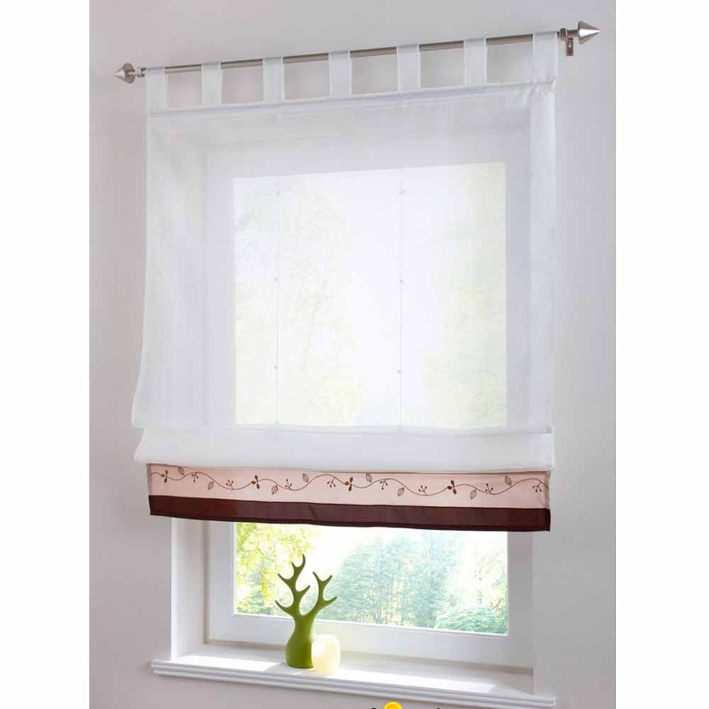 piece only new white living room curtains bedroom window curtain screaaning modern