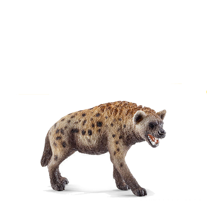 8.5cm wild animal PVC hyena model collectible figures kids preschool toys children educational gift easyway sea life gray shark great white shark simulation animal model action figures toys educational collection gift for kids