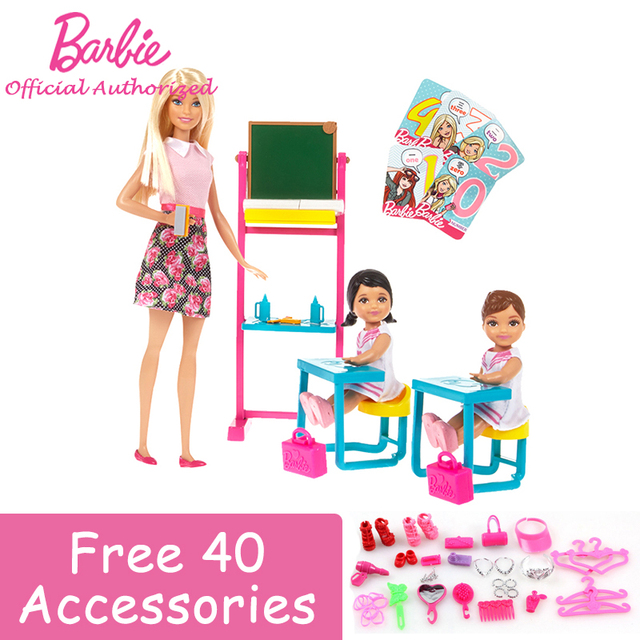 Barbie Autorisieren Marke Neueste Träume Englisch Lehrer Job ...