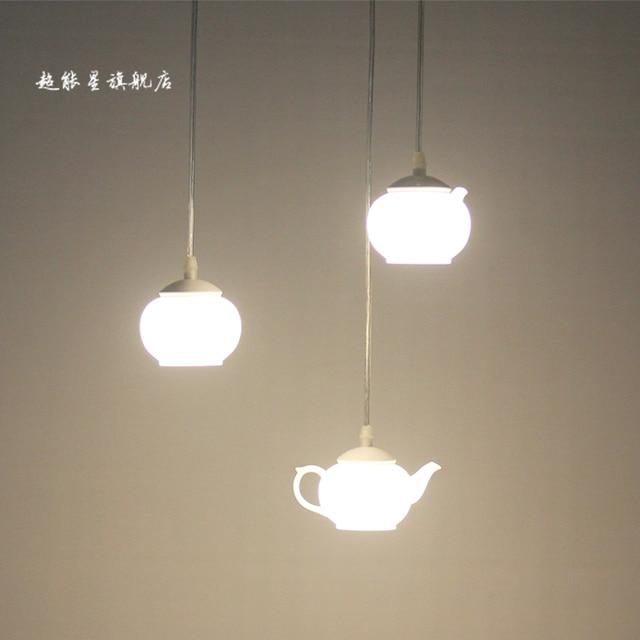 teapot pendant ceiling lamp lamps lighting pendants light acrylic item led cup
