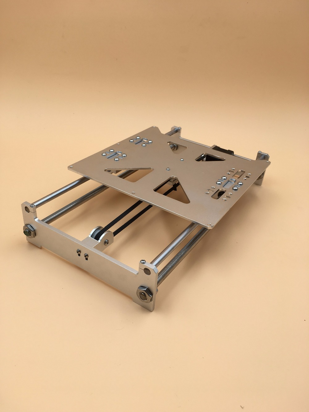 Reprap Prusa i3 Y-axis metal heated frame  Update Base print plate kit kit aluminum alloy