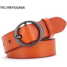 Ladies Classic Leather Belt