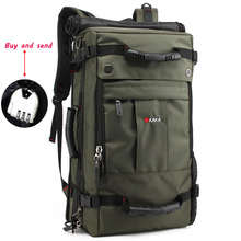 40L New Outdoor Mountaineering Bag Large Capacity Camping Hiking Backpack Multifunctional Locked Waterproof Travel