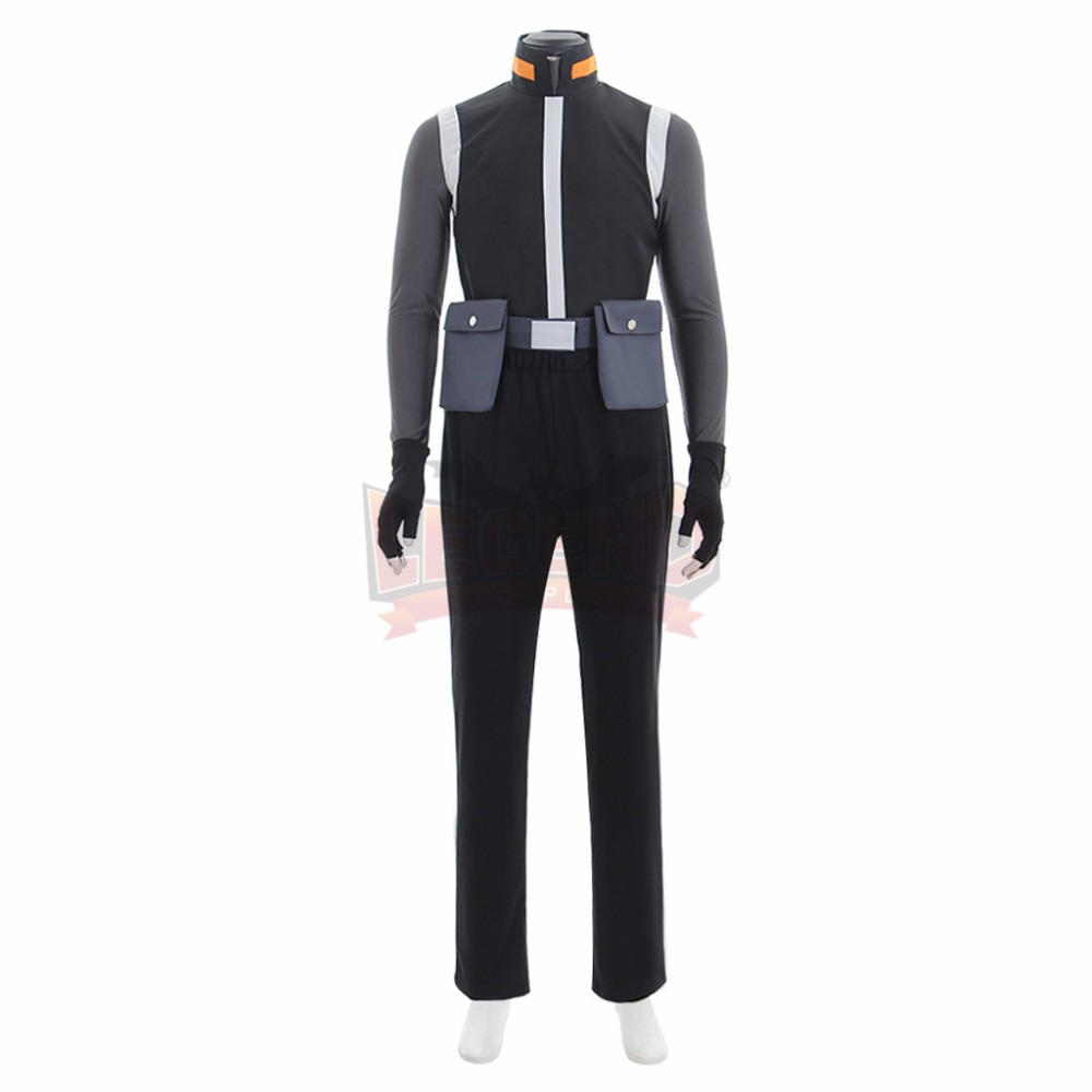 Cosplay legend  Voltron:Legendary Defender Shiro Black Adult Suit Cosplay Costume Suit All Size