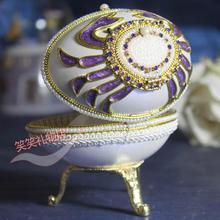 Egg carving girls music box birthday music box gift handmade crafts musica jewelry box