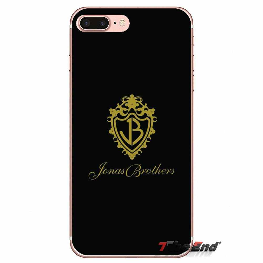 Voor iPhone X 4 4 S 5 5 S 5C SE 6 6 S 7 8 Plus Samsung Galaxy J1 J3 J5 J7 A3 A5 2016 2017 Jonas Brothers Wyckoff Pop rock band Case