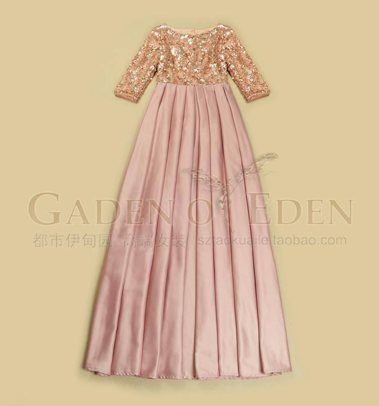 Hot Sale High Quality Silk Satin Women Formal Evening Party Dress With Sequin  Hollow Out Fashion Maxi Dress Vestidos Femininos-in Video Games Wheels from  ... fe02328d993f