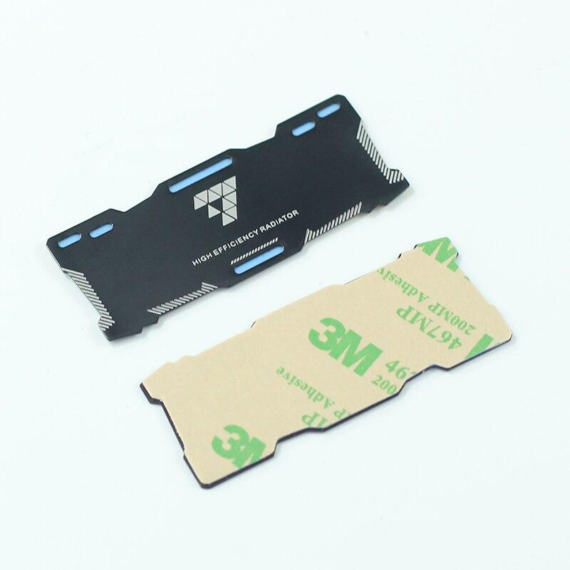 Pure Aluminium Notebook Gaming Laptop Memory Heatsink Cooling Vest 0.3mm Radiator RAM Memory Cooler Heat Sink C26
