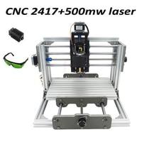 FREE TAX Mini 2417 500mw Laser Head Cnc Carving Router GRBL Control