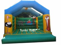 Outdoor Game Inflatable Bouncer Slide House Inflatable Bouncer Pirate Bounce