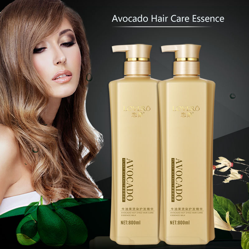 Avocado Conditioner Oil Scalp for Frizzy Dry Hair keratin Repair Treatment hair care keratin hair split ends conditioner SU38