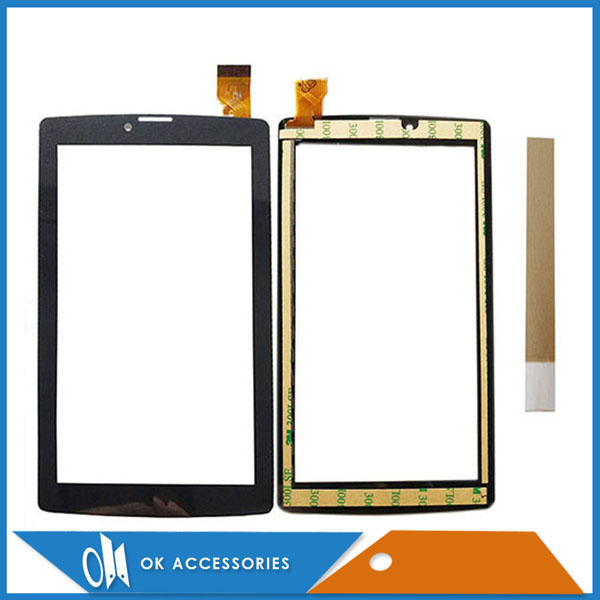 7.0 Inch For BQ BQ-7083G BQ7083G BQ 7083 BQS 7083G BQ-7083G Touch Screen Digitizer Panel Black Color With Tape