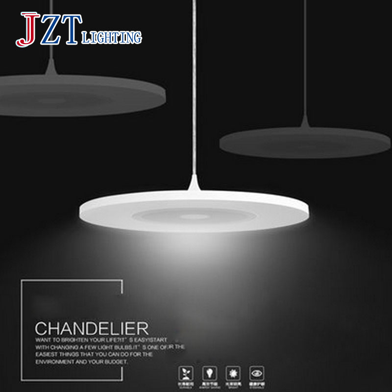 T Circular Simple Fashion Pendant Light For Foyer Restaurant Dining Room Modern Creative Artistical Lamps With Led DHL Free italy fashion pendant light and modern fashion creative restaurant simple energy saving lamps led new custom art