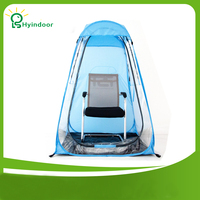 Fish Tent PVC 100 100 150cmTransparent Sunshine Warm Fishing Tents For Winter Or Summer