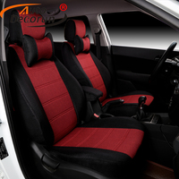 Linen Fabric Car Covers For VW Volkswagen UP 2015 Car Seat Covers For Cars Seat Supports