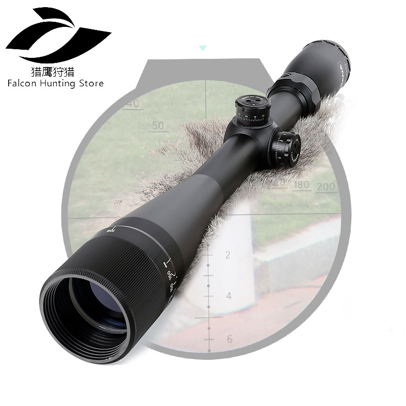 Hunting Rifle Scope 4-16X42 AO Riflescope Mil Dot Reticle Optical Sight zos 3 12x40 ao mil dot reticle riflescope classic tactical weapon optical sight for hunting rifle scope with lens cover